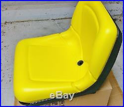 John Deere tractor seat AM116408 1200A bunker rake Gator 4x2 6x4 with drain hole