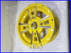 John Deere xuv 550 Gator Rim 12x6 4 bolt aluminum alloy wheel Oem yellow 590