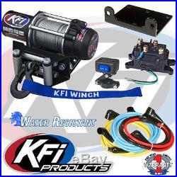 KFI 1700 lbs. Winch + Mount- John Deere Gator RSX860i 2016