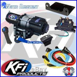Kfi 4500Lb UTV Winch Set Mount Kit Fit John Deere Gator XUV 625i 825i 855d 11-15