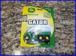LOT of (21) NEW ERTL JOHN DEERE Tractors, Wheel Loaders & GatorsFactory Sealed