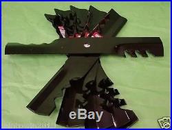 Lot of 6 G6 GATOR Blades John Deere 54C X465 X475 X485 X495 Z425 Z445 396-719