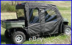 Ms-jd-2554drw01-john Deere Gator S4 Full Cab Enclosure