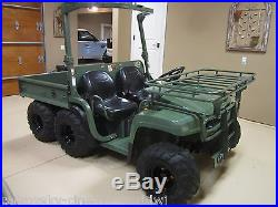 NEW! JOHN DEERE ARMY MILITARY A1 GATOR DIESEL 6X4 ATV UTV RANCH HUNTING TRACTOR