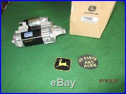 New Oem John Deere Mower/gator/tractor Starter M809215 Models Below