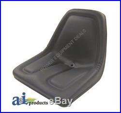 New 2 Pack Seat For John Deere Gator Black Aiptm333bl X2