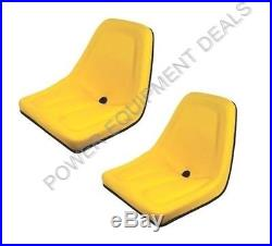 New 2 Pack Seat For John Deere Gator Yellow Aiptm333yl X2