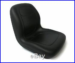 New Black HIGH BACK SEAT with ARM RESTS for John Deere GATORS Made by MILSCO