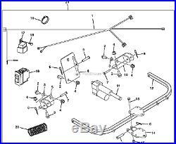 New Deere Vgb10088 Gator Lift Arm Kit 4x2 6x4 Includes Actuator Tca14588