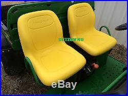 New Pair of Genuine John Deere Gator seats in Yellow