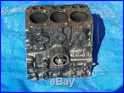 Oem Deere 330 332 655 Diesel Gator Yanmar 3tn66uj Eng Block 3 Cylinder Diesel