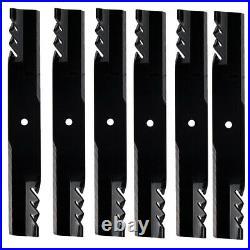 Oregon 396-769 Gator G6 Blades 6 Pack John Deere 727 737 757 54 Decks M144652
