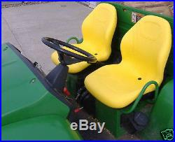 Pair Of High Back Yellow Seats 855d, 850i, 625i, 825i, 4x4,6x4 John Deere Gators #jg