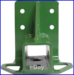 Rear Trailer Hitch Receiver fits John Deere Gator 4x2 6x4 Old Style BoltOn Green