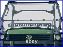 SPIKE Vented Front Windshield for 2007-2018 John Deere Gator 825i 825M 850D 855D