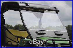 Seizmik Versa-Vent Full Front Windshield for John Deere Gator HPX XUV PN 25030