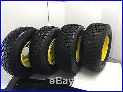 Set Of 4 25x10.00-12 25x8.00-12 Directional John Deere Gator ATV Wheel And Tir