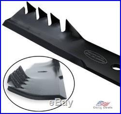 Set of 3 Oregon Gator Mulcher Blades for 60 Deck John Deere 425 445 455 420 430