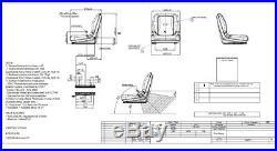 Sitzschale passend John Deere Rasentraktor Aufsitzmäher Gator Castel Garden