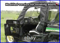 Soft Doors for John Deere Gator RSX / XUV / HPX Zip Down Windows Heavy Duty