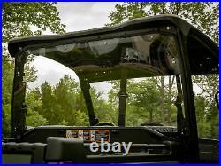 SuperATV Light Tint Rear Windshield for John Deere Gator 835 / 865 (2018+)