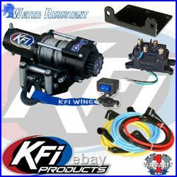 Winch Kit 2500 lb For John Deere Gator HPX 615E ALL (Steel Cable)