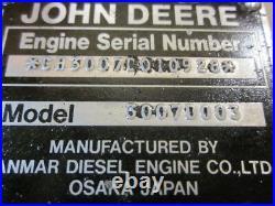 Yanmar 3TN66 John Deere Diesel Gator Complete Cylinder Head 6x4 4x6 Work Site