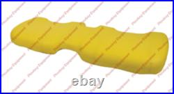 Yellow Vinyl Bench Bottom Seat Cushion for JOHN DEERE Gator HPX XUV HPX AM140624