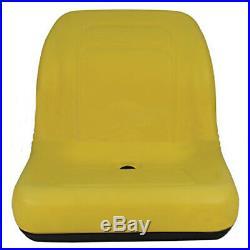 Yellow XB180 HIGH BACK SEAT for John Deere GATORS Made in USA by MILSCO #BI